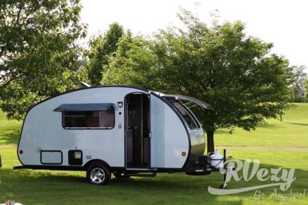 The Tin Can Bunkie - Easy tow with an SUV or minivan