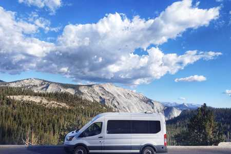 """""""Ramble On""""  Ford Transit Medium ( 5'9"""" standing height inside) ) Roof Campervan"""