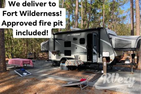 17ft Hybrid Sleeps 7- WE DELIVER - Fort Wilderness Tent/Popup Site Approved!