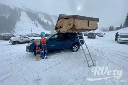 Toyota 4Runner CVT Rooftop King Bed Camper