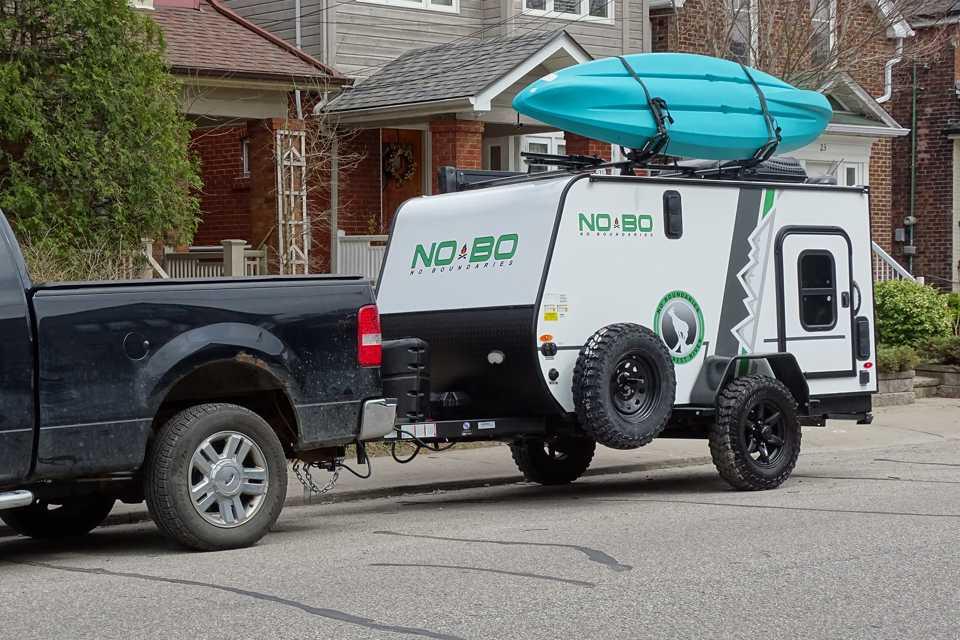 NoBo 10.6 Compact Camper Toy Hauler in the GTA | RVezy
